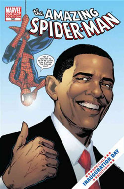 Amazing Spider-Man #583 Obama variant