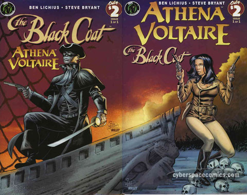 Black Coat/Athena Voltaire #1