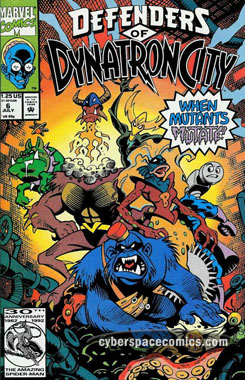 Defenders of Dynatron City #6