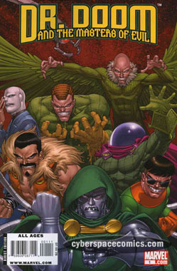 Dr. Doom and the Masters of Evil #1