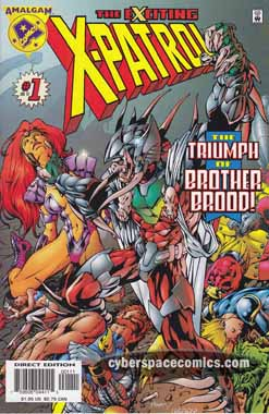 the Exciting X-Patrol #1
