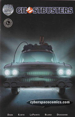 Ghostbusters: Legion #1 second printing