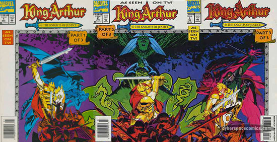 King Arthur & the Knights of Justice #1 2 3