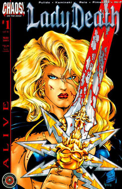 Lady Death: Alive #1