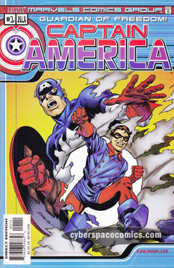 Marvels Comics: Captain America #1