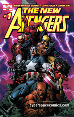 New Avengers #1 David Finch variant