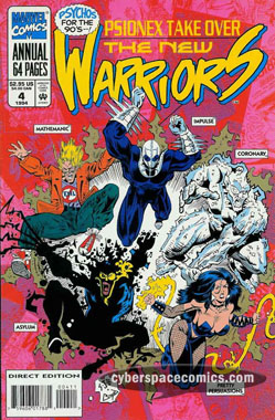 New Warriors Annual #4