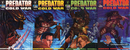 Predator: Cold War #1 2 3 4