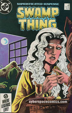 the Saga of the Swamp Thing #33