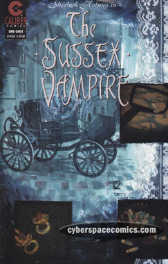 Sherlock Holmes in the Sussex Vampire by Warren Ellis