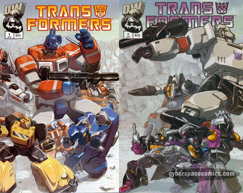 Transformers: Generation One #1