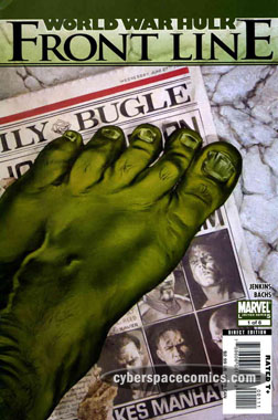 World War Hulk: Front Line #1