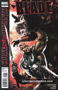 X-Men: Curse of the Mutants - Blade #1