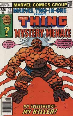 Marvel Two-In-One #31