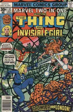 Marvel Two-In-One #32