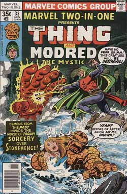 Marvel Two-In-One #33