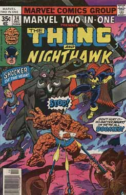 Marvel Two-In-One #34