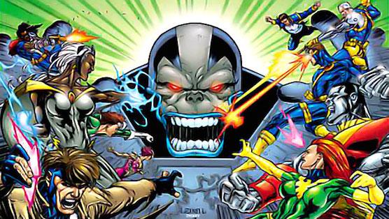 Apocalypse vs X-Men