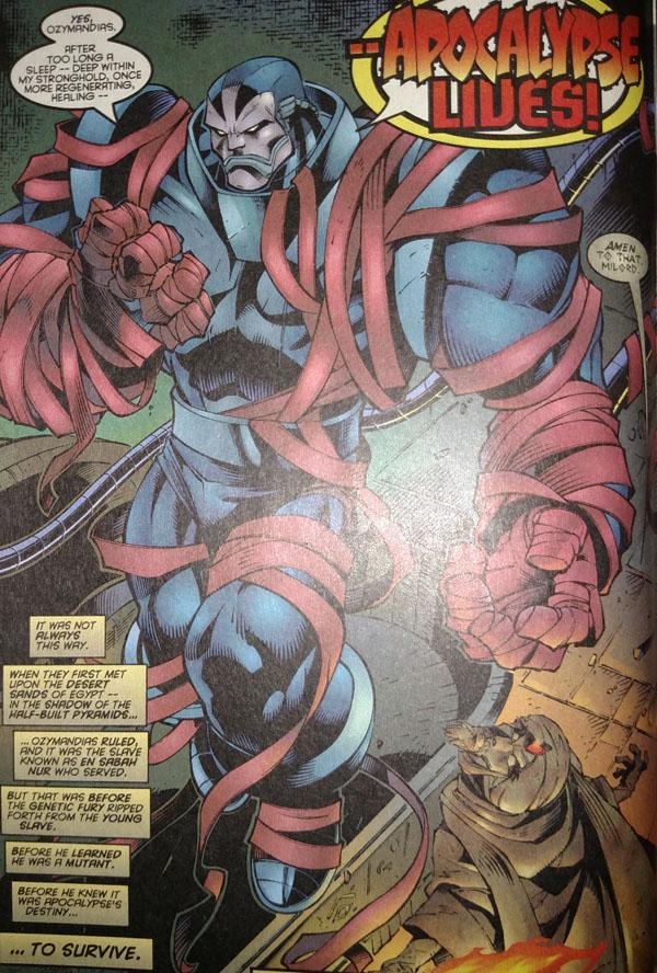 Uncanny X-Men #335 interior