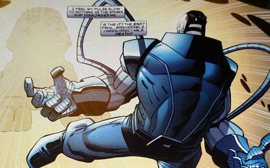 X-Men vol. 2 #186 interior