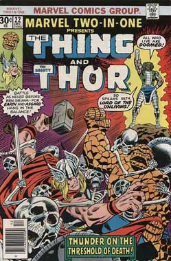 Marvel Two-In-One #22